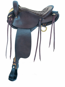 American Saddlery Black Endurance Saddle