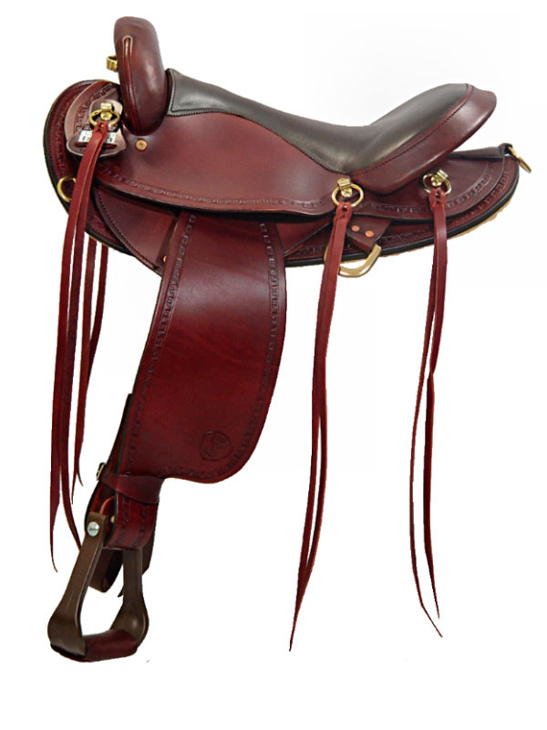 16inch Big Horn Flex Endurance Saddle 805