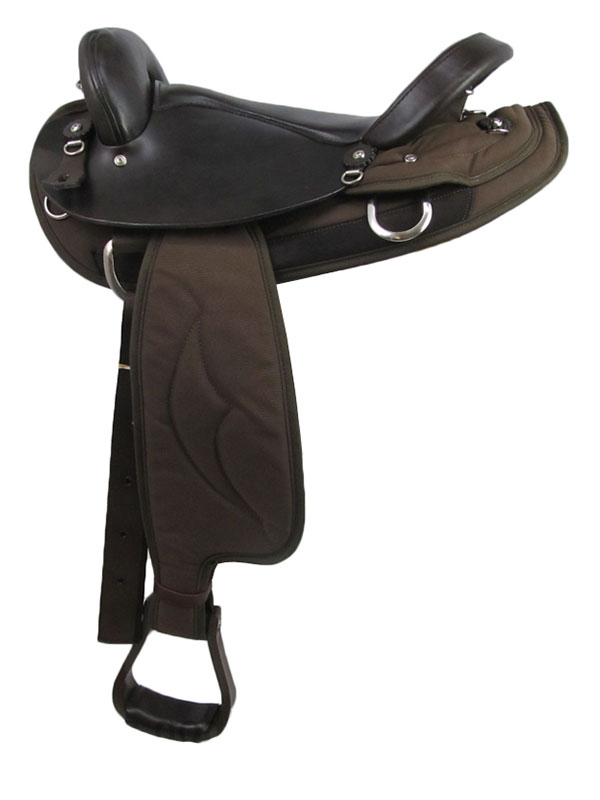 16inch Big Horn cordura Endurance Saddle FQHB