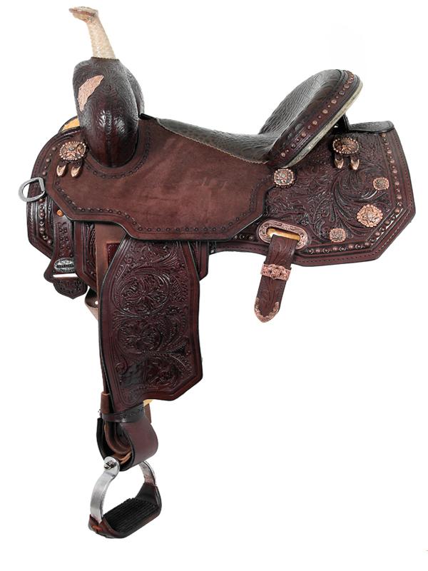 13.5inch to 17inch Circle Y Martha Josey Ultimate Legend Barrel Saddle 1197