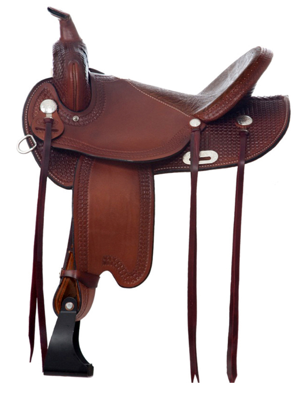 Dakota Flex Tree Trail Saddle 352_ Lightweight_ Reg or Wide Tree