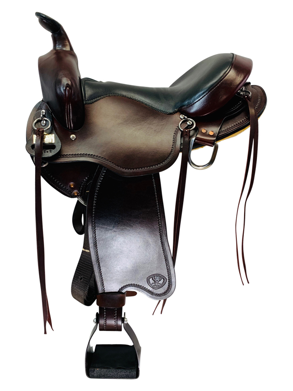 16 Inch BIg Horn Gaited Light Flex Tree Saddle FLOOR MODEL 815