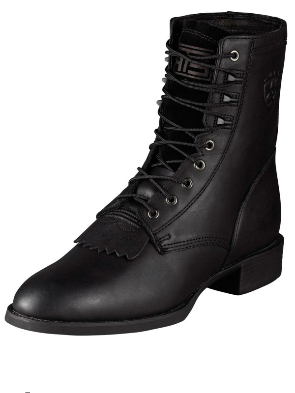 Black | Rope | Boot | Lace | Toe | Men