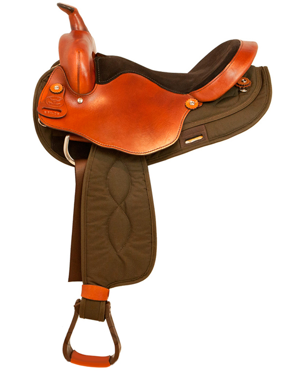 15inch to 17inch Big Horn Light Weight Haflinger Saddle 290 291 292