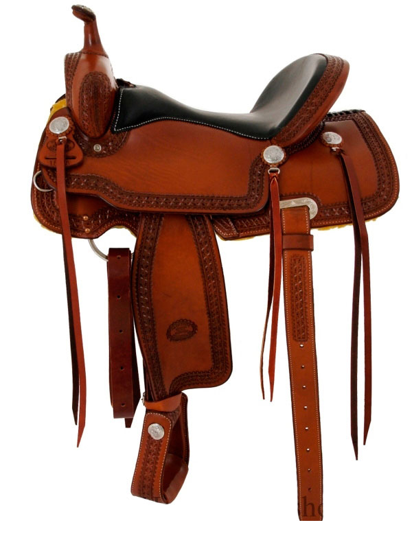 15inch_ 16inch Billy Cook Trail Saddle 1538