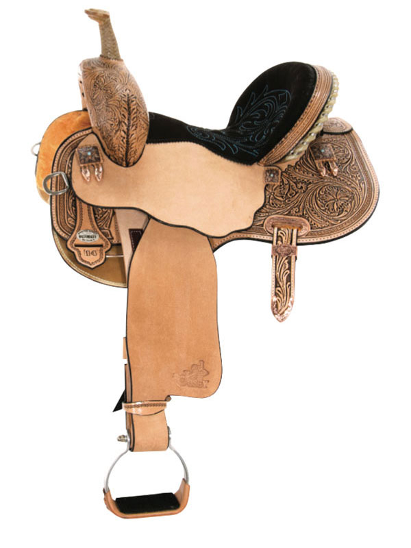 13.5inch to 17inch Circle Y Josey Ultimate Hiphugger Barrel Saddle 1174 w/Free Pad