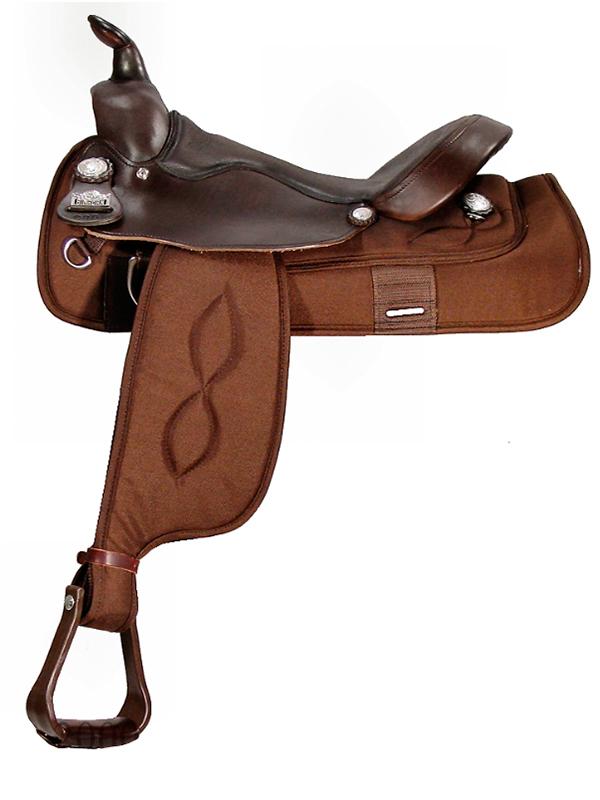 16inch Big Horn Haflinger Cordura Saddle 295