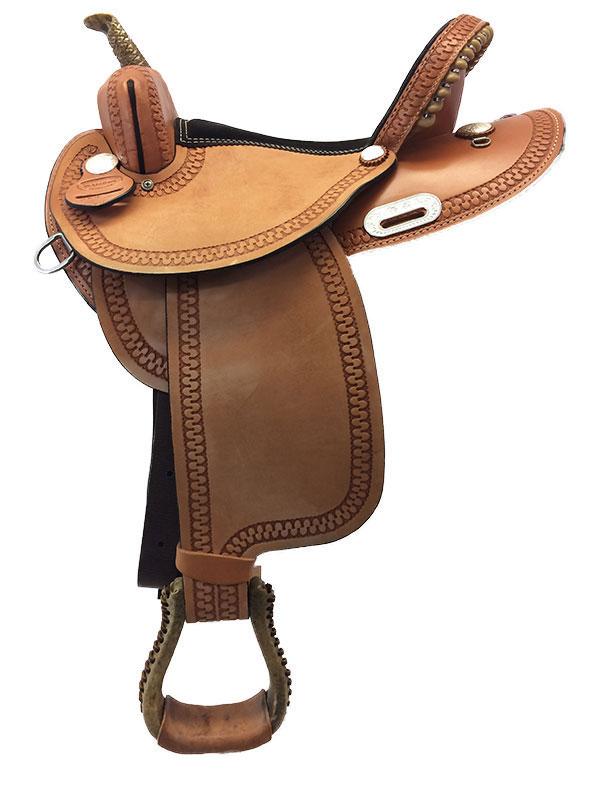 Dakota Barrel Saddle 343