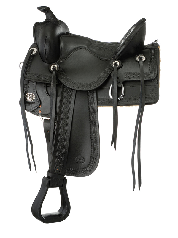 15inch to 17inch King Series Old Time Trail Rider Saddle 792