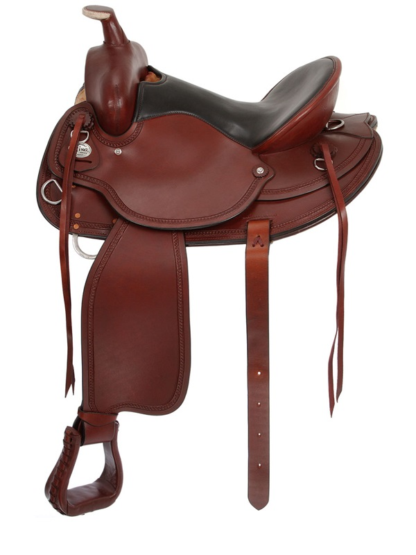 15.5inch to 17.5inch King Series Wolverine Wide Tree Saddle 78