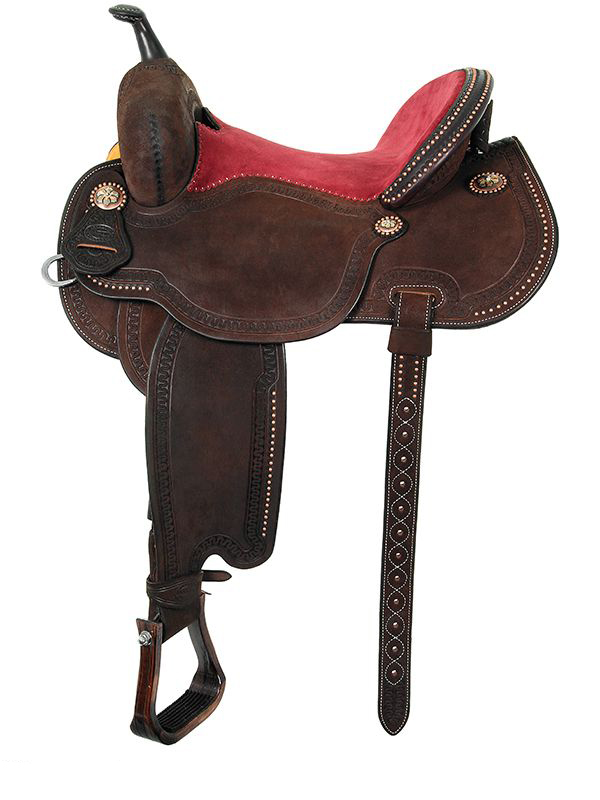 12.5inch to 15inch Martin Saddlery Lisa Lockhart Fearless Barrel Racer 75-C3