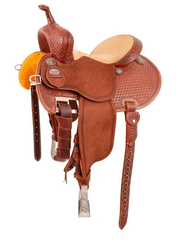 12.5inch to 15.5inch Martin Saddlery FX3 Barrel Racing Saddle mr67TW