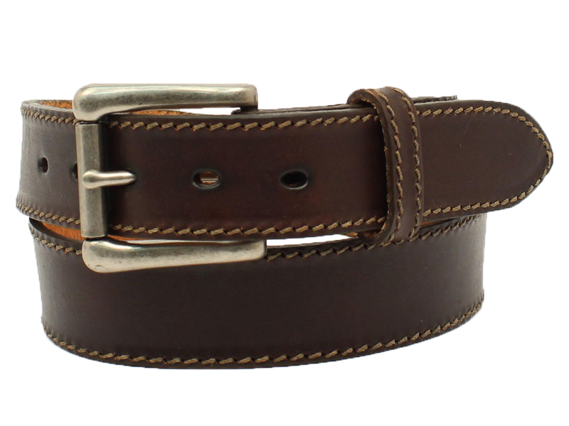 Nocona Mens Inchmade In The Usainch Leather Belt N2300947