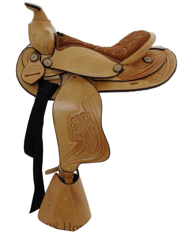 12inch Dakota Light Oil Pony Saddle 950slo