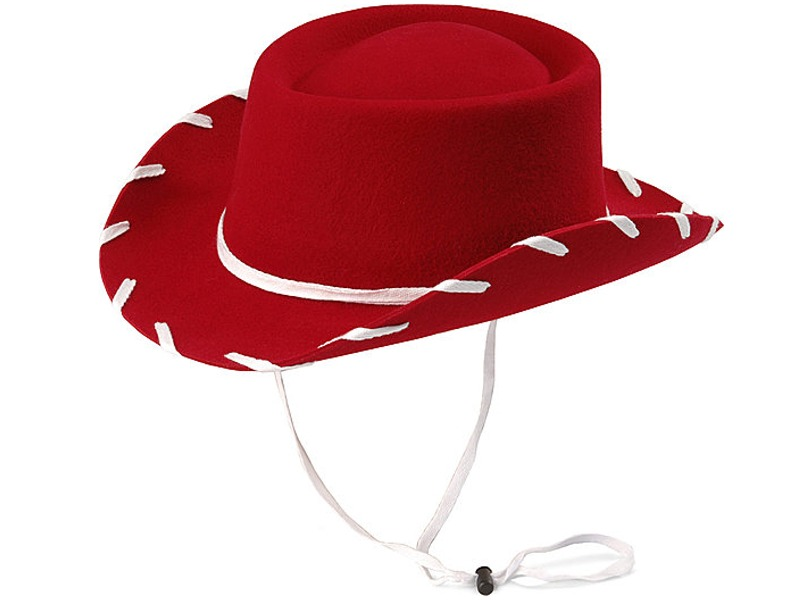 Cowboy   Youth   Hat   Red