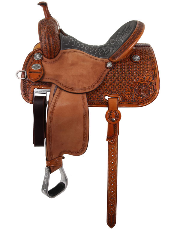 12.5inch to 15.5inch Martin Saddlery Sherry Cervi Crown C Custom Barrel Racer 97-C1