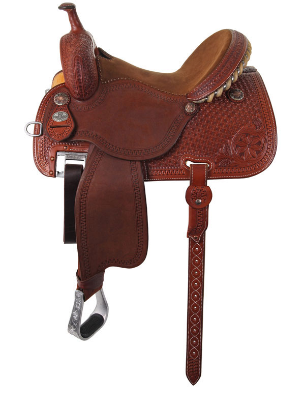12.5inch to 15.5inch Martin Saddlery Sherry Cervi Crown C Custom Barrel Racer 97-C2