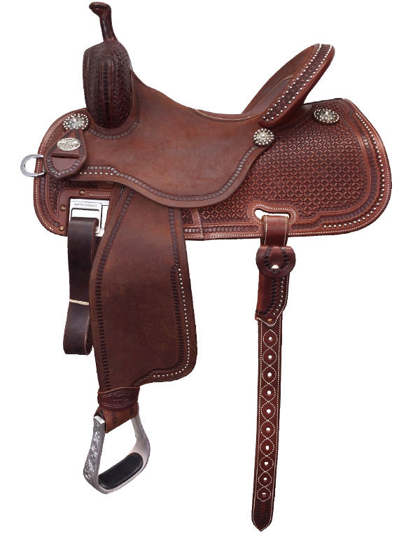12.5inch to 15.5inch Martin Saddlery Sherry Cervi Crown C Custom Barrel Racer 97-C3