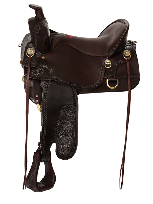 Tucker High Plains Trail Saddle T60 w/Free Pad