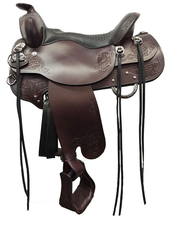 Tucker Horizon Trail Head Saddle 271 w/Free Pad