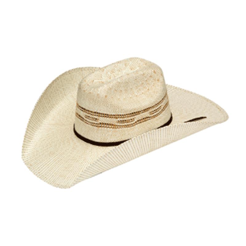 Cowboy   Straw   Twist   Hat