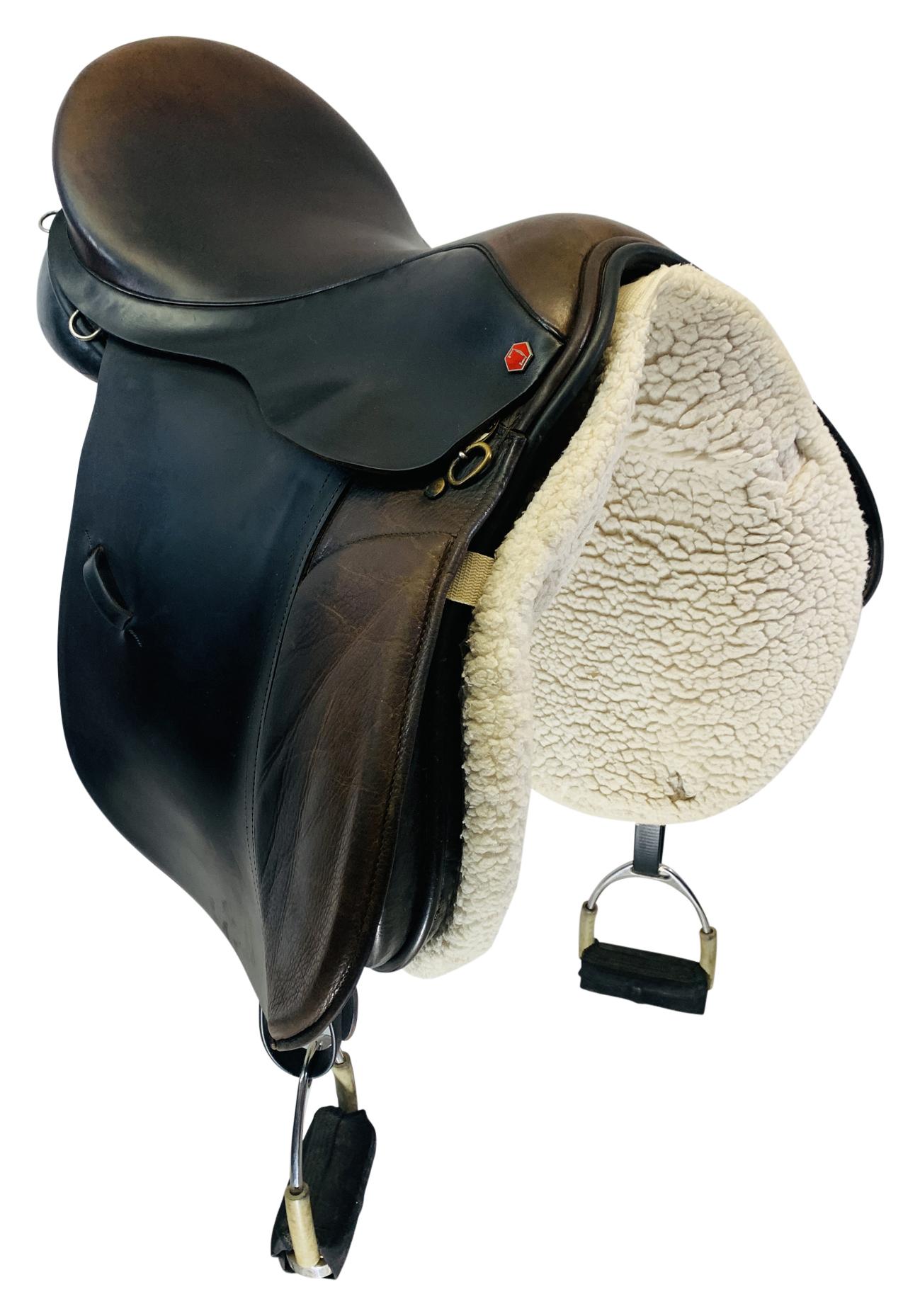 17 Inch Used Albion All Purpose Saddle Custom