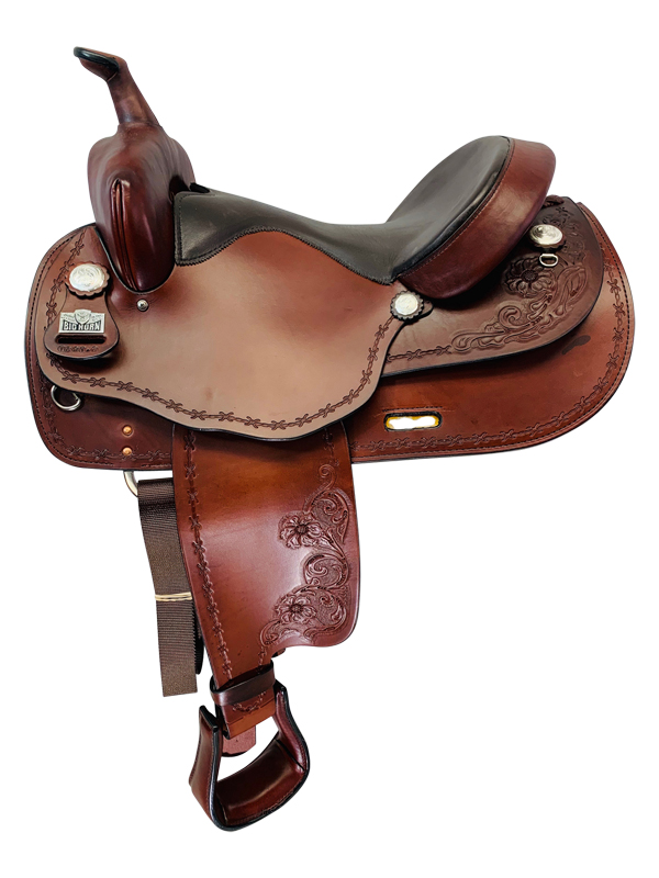 16 Inch Big Horn Haflinger Saddle FLOOR MODEL 1681