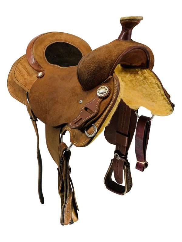 16 Inch Used Box T Saddlery Ranch Saddle Custom