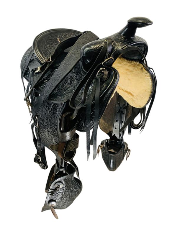 14.5inch Used Custom Trail Saddle Custom