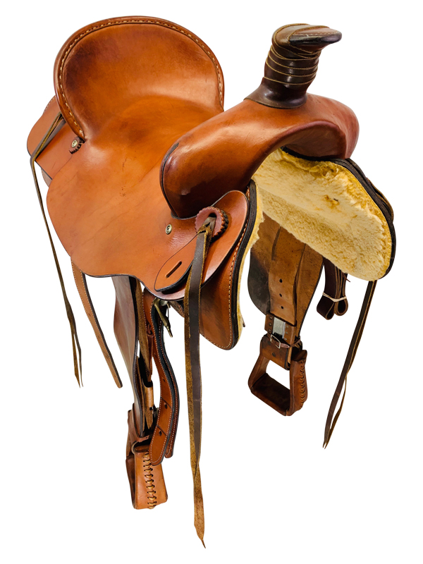 17 Inch Used Dakota Ranch Roper Saddle 550
