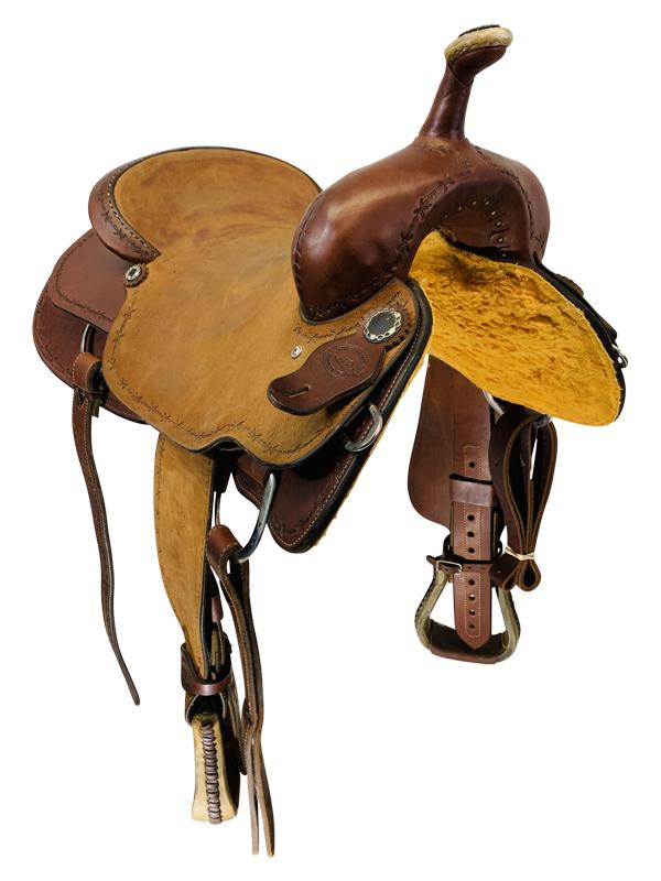 17 Inch Used Hr Cutting Saddle Custom