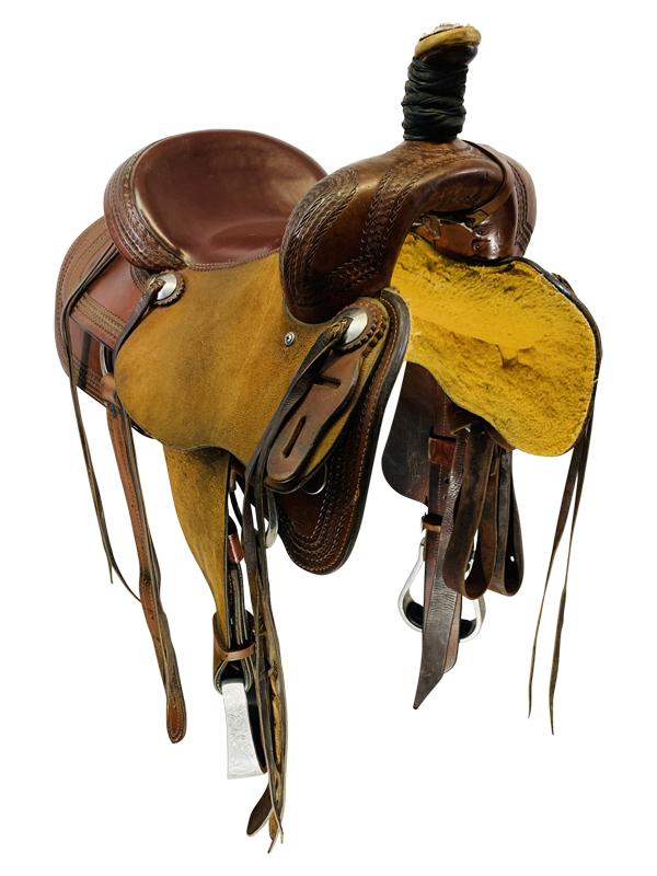 14.5inch Used Srs Saddlery Ranch Saddle Custom