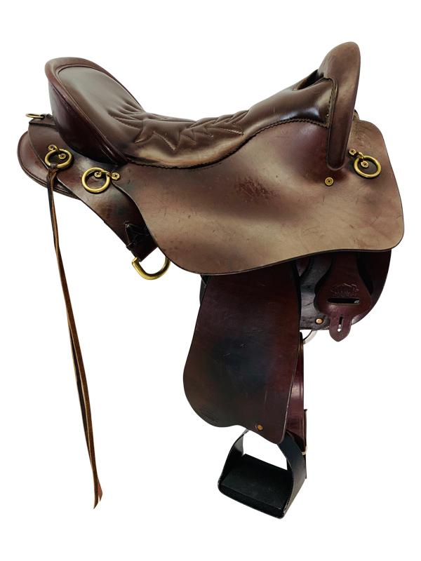 16.5Inch Used Tucker Endurance Saddle 159