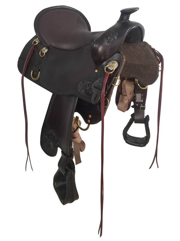 16.5Inch Tucker High Plains Trail Saddle FLOOR MODEL T60