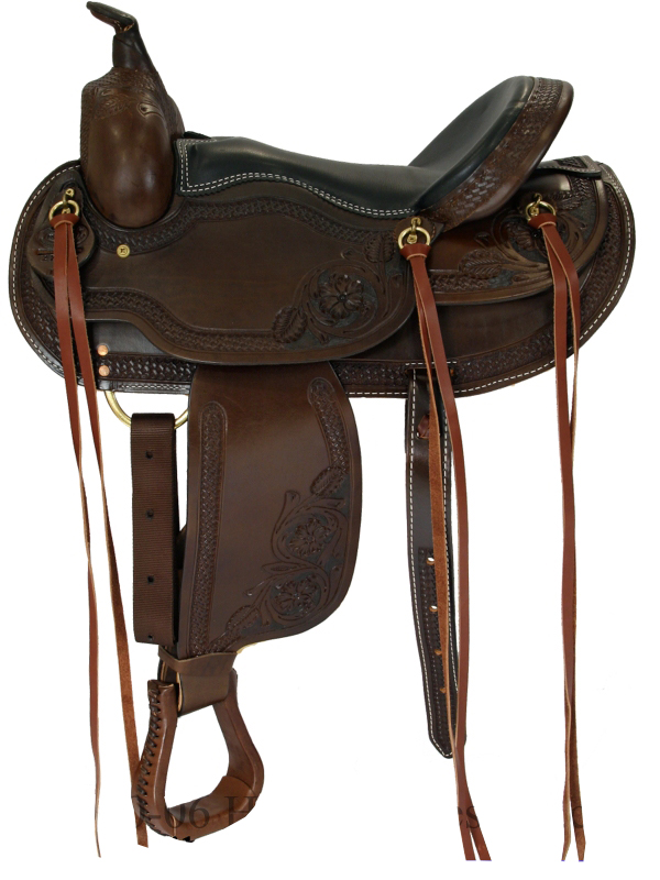 15inch to 17inch Dakota Custom Flex Tree Western Trail Saddle 2212