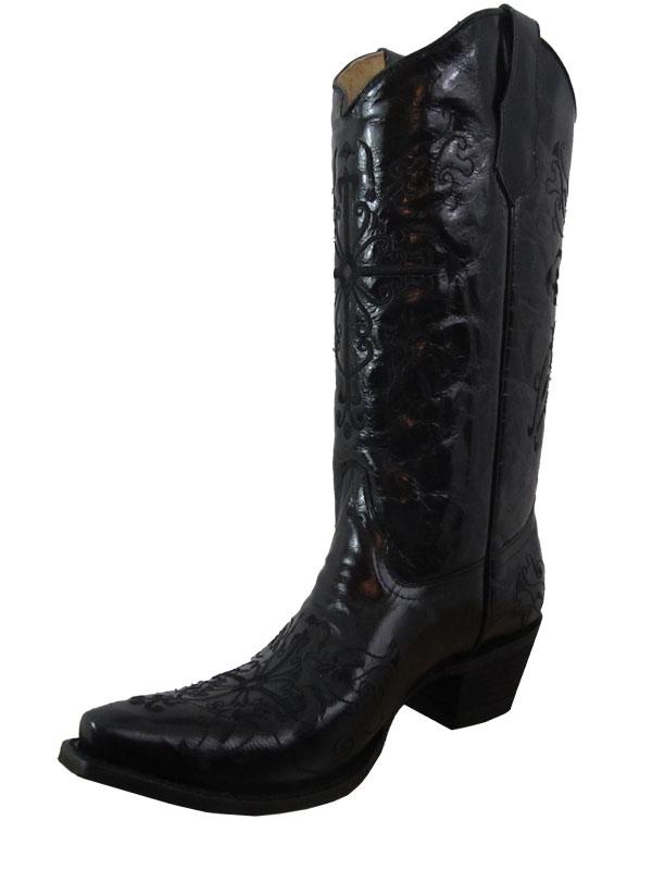 Cross | Women | Black | Boot